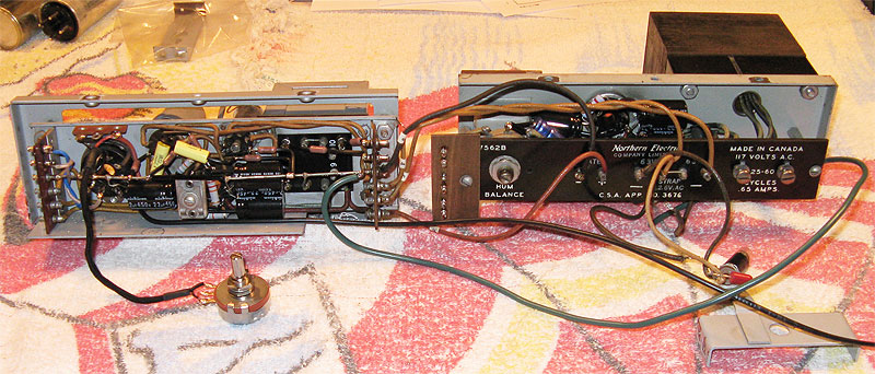 northern-electric-program-mic-pre-amplifier-restored-inside